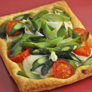 Asparagus and Green Garlic Tarts