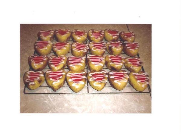 Valentine Heart Cakes Recipe
