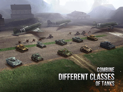 Armor Age Tank Wars — WW2 Platoon Battle Tactics v1.7 APK Full