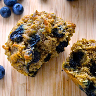 Rise and Shine Blueberry Oatmeal Muffins.