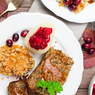 Vegan Thanksgiving Lentil Loaf