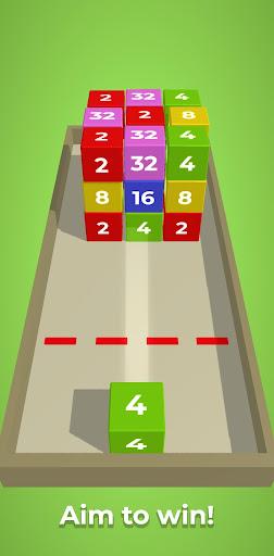 Chain Cube: 2048 3D merge game filehippodl screenshot 5