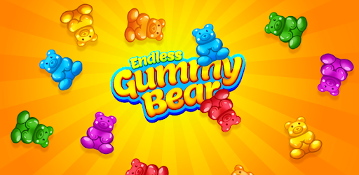 Endless Gummy Bear Juegos para Android screenshot