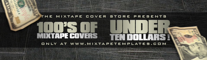 100's Of Mixtape Covers Under $10 !