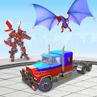 Robot Car Transformation: 3D Transformation Games