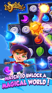 BeSwitched Magic Puzzle Match Screenshot