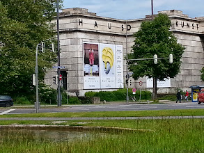 Photo: Haus de Kunst, a rare Fascist building still left standing.