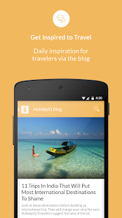 HolidayIQ Hotels Travel Review - náhled