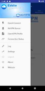 Download Eddie - AirVPN official OpenVPN GUI APK latest version app