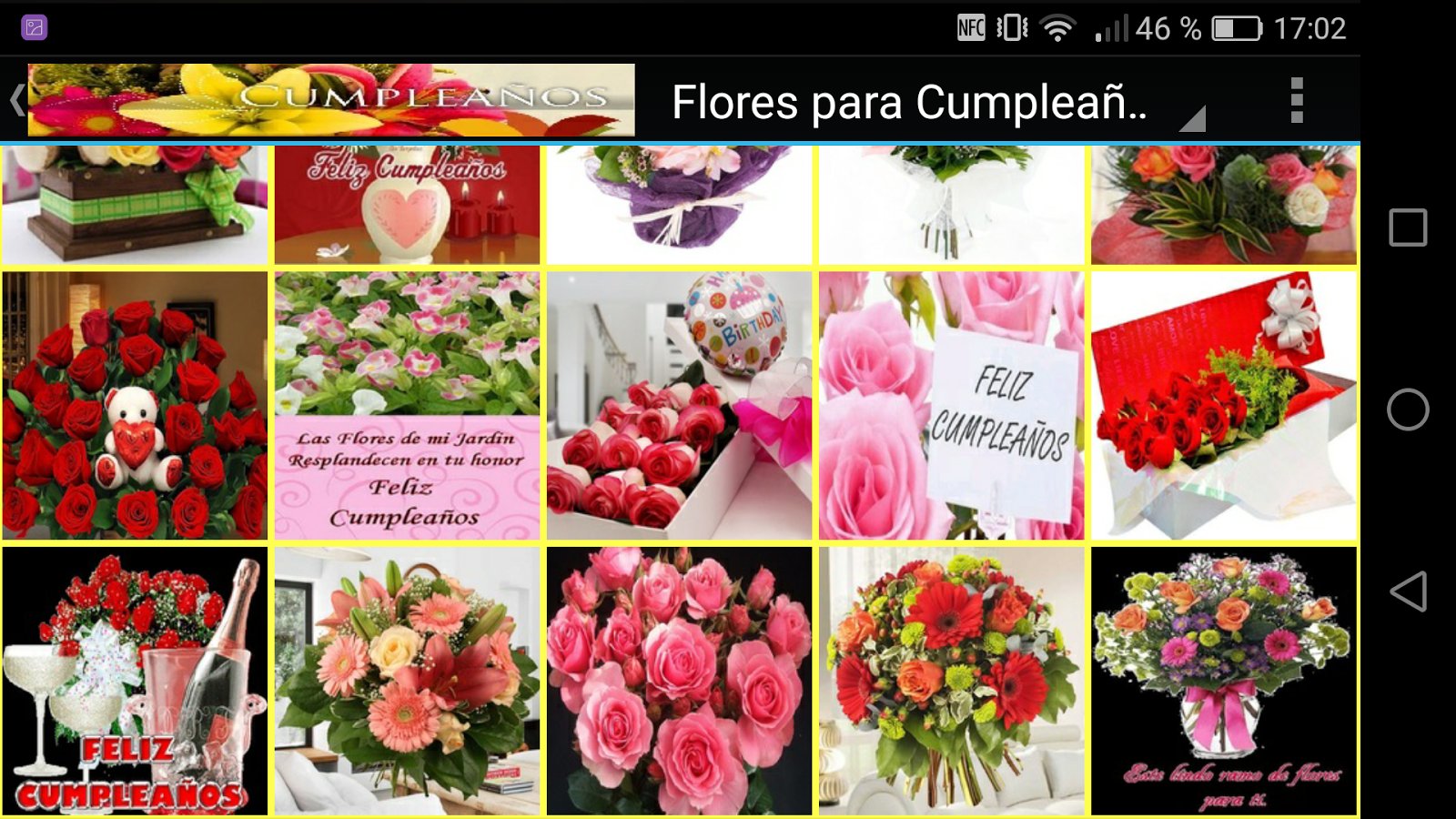Flores para cumplea os android apps on google play - Flor para cumpleanos ...