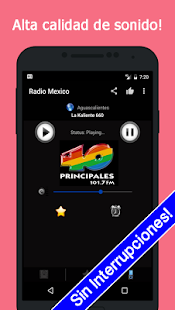 Radio Mexico Gratis - náhled