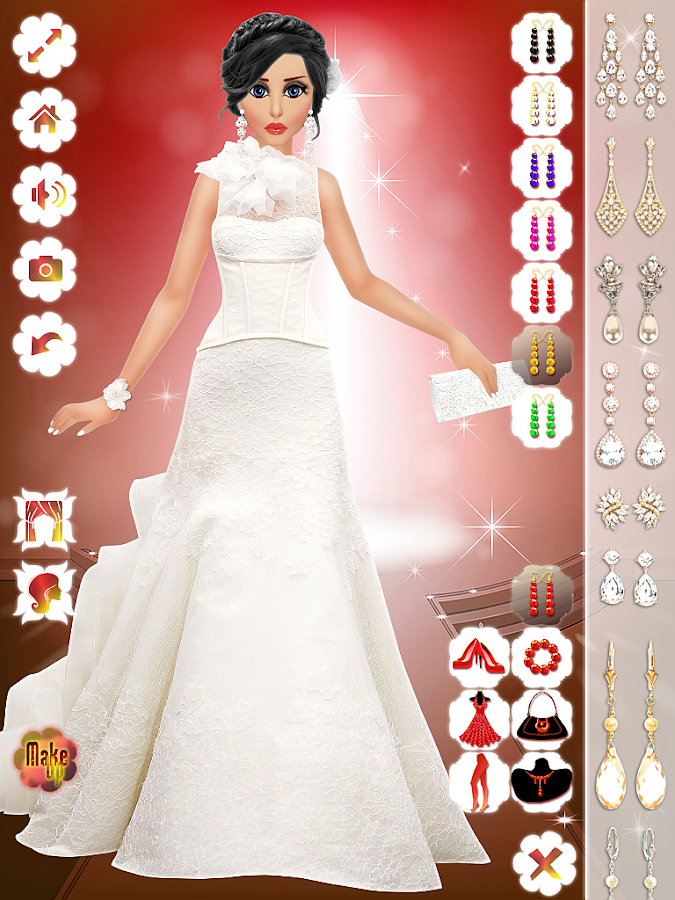Wedding Makeup,Dress,Hairstyle- screenshot