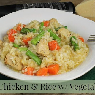 One Pot Chicken & Rice {with Vegetables} Recipe