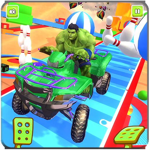 Superhero ATV Quad Stunts2018:ATV DestructionProps