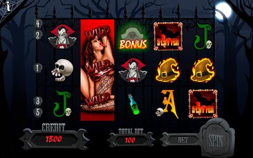 Haunted Party Slot Machine - náhled