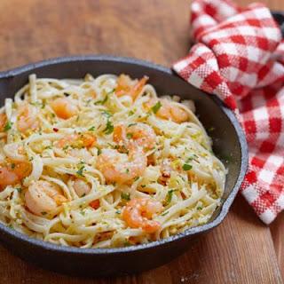 Copycat Shrimp Scampi Linguine