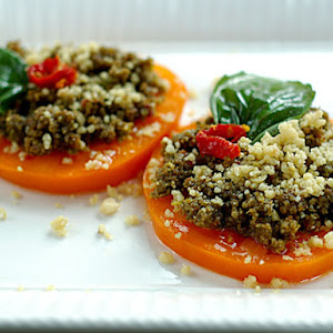 Sun Dried Tomato Pumpkin Seed Pesto