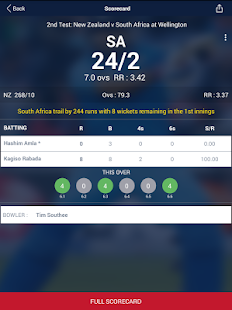 Cricket Live Score & Schedule- screenshot thumbnail
