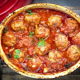 Crockpot Marinara Meatballs