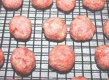 Place meatballs onto a buttered or sprayed cooling rack and put rack inside a...