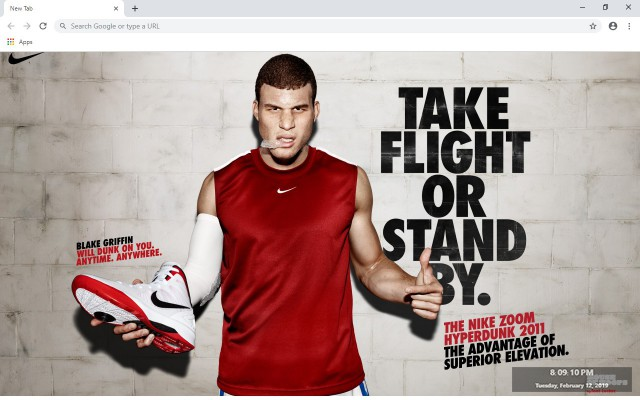 Blake Griffin New Tab & Wallpapers Collection