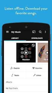 Napster - ­Top Music & Radio- screenshot thumbnail