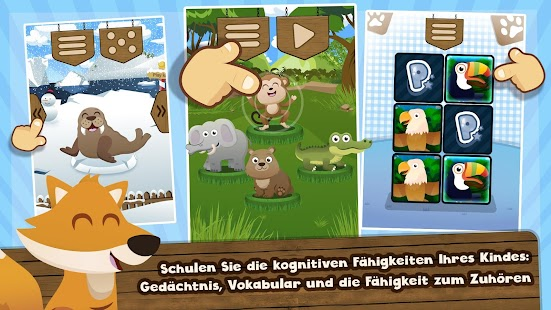Tierstimmen Screenshot
