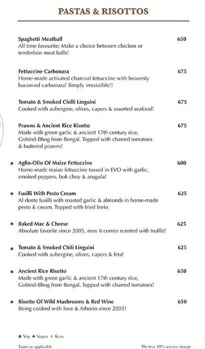 Indigo Delicatessen menu 9