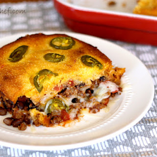 Mexican Cornbread Ground Beef Beans Recipes