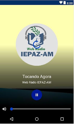 Web Rádio IEPAZ-AM screenshot 2