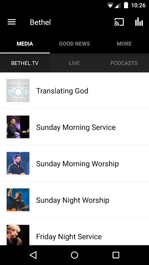 Bethel Redding- screenshot