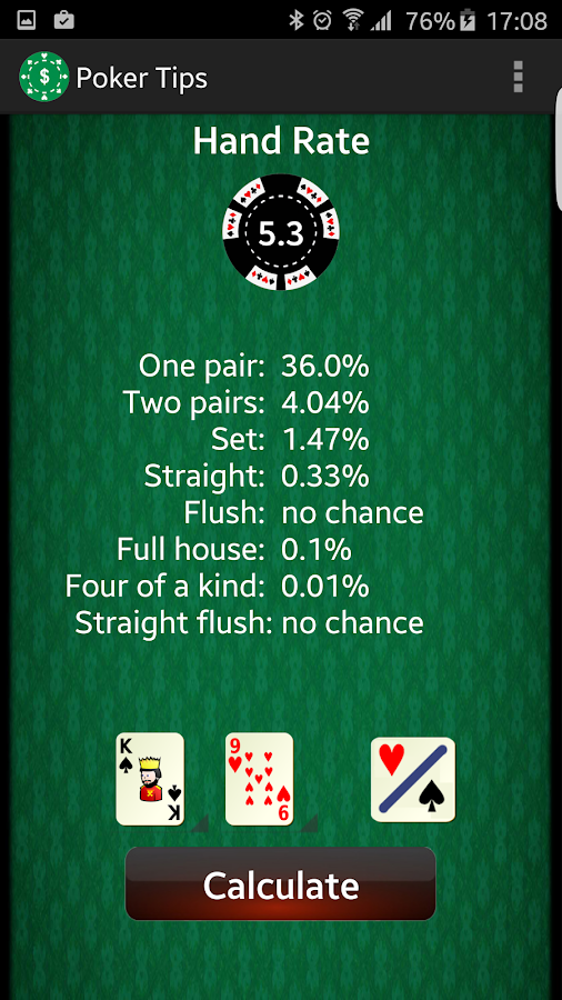 Texas holdem first 3 cards