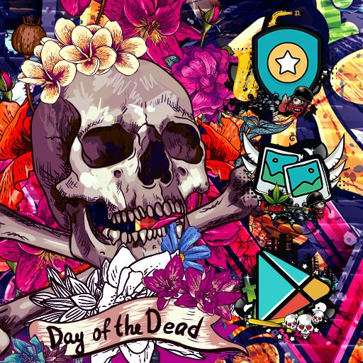 Skull Guitar Wallpaper Hd: Rock Skull Wallpaper Graffiti