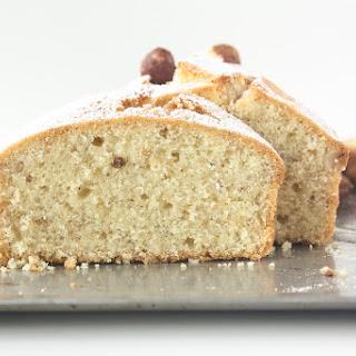 Hazelnut Butter Cake.