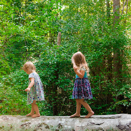 A Fallen Log .... Hurricanes by Kellie Jones - Babies & Children Children Candids