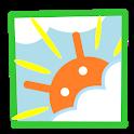 ピンポイント天気 icon