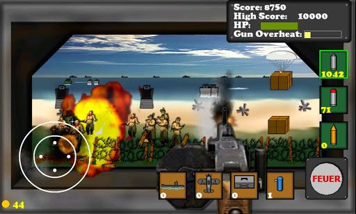 D-Day Gunner FREE  screenshots 1