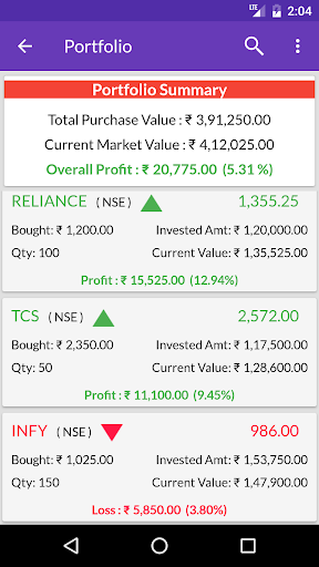 Indian Stock Market Quotes - Live Share Prices  screenshots 11