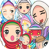 WASticker Apps : Hijabs Muslimah
