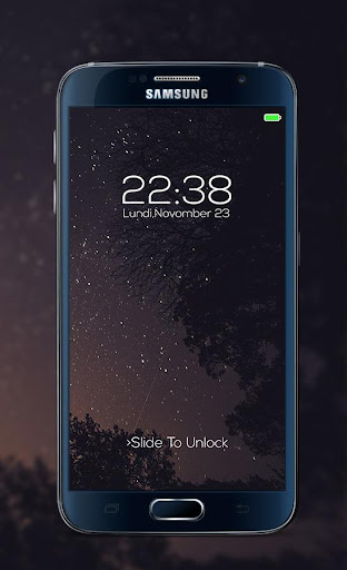 Galaxy password Lock Screen