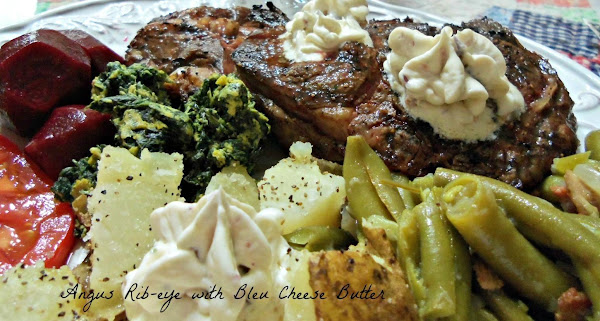 My Special Bleu Cheese Butter Recipe