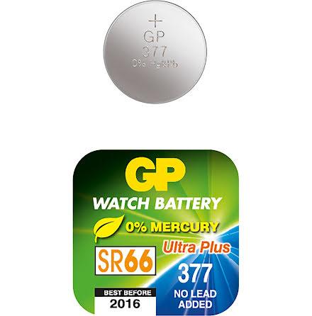 Batteri GP Silveroxid SR66 377