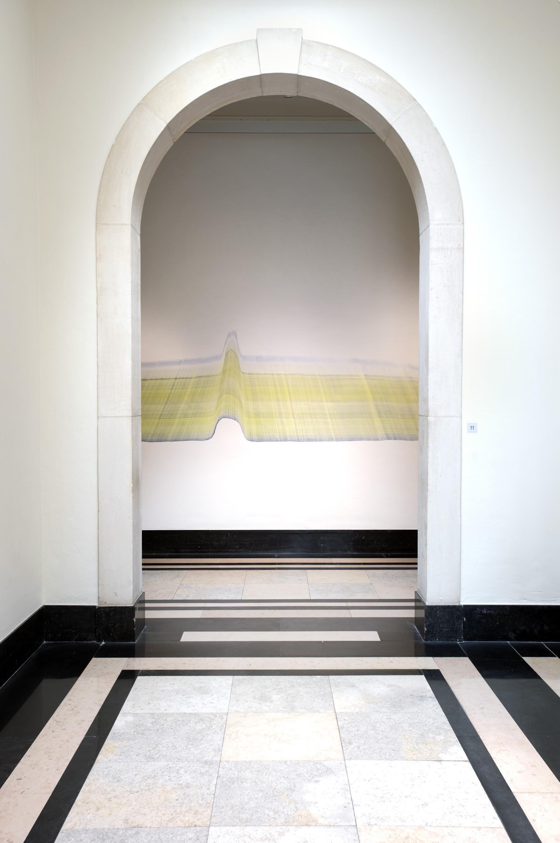 Muurschildering zonder titel, Romee van Oers, 2020