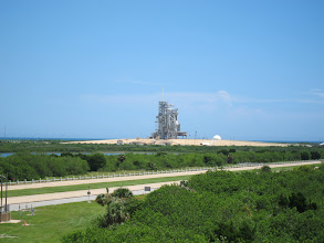 Photo: Space Shuttle launch pad.