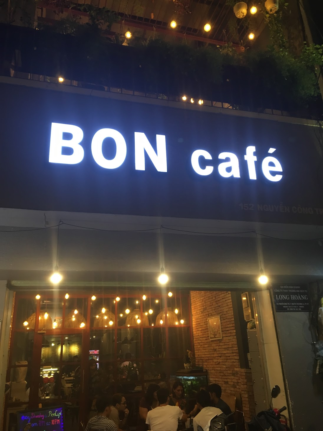 @Bon Cafe / Blabla language exchange