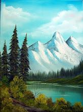 Photo: 1401 Distant Mountains 18 x 24 $249.00