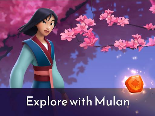 Disney Princess Majestic Quest: Match 3 & Decorate 1.7.1a Screenshots 10