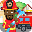 Pretend Play Fire Station: Rescue Town Firefighter icon