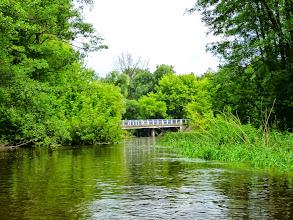 Photo: 34,5 km Samice, mld, stary, nieczynny młyn za mostem po lewej stronie