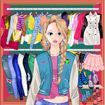 Princess Doll Fashion Dress Up Icon